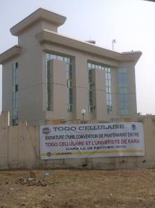 Le centre de ressources informatiques de l'Université de Kara - bâtiment
