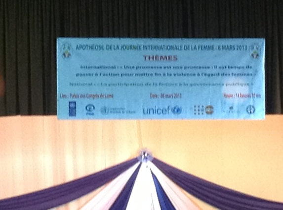 Différents thèmes étaient au programme de cette journée. Des sujets nationaux, et internationaux.