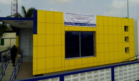 Nouveau bureau de poste de Lomé port.