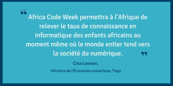 Cina Lawson Africa Code Week
