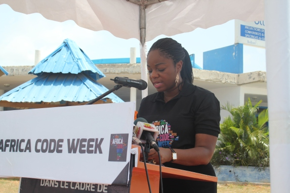 Cina Lawson Africa Code Week 2015